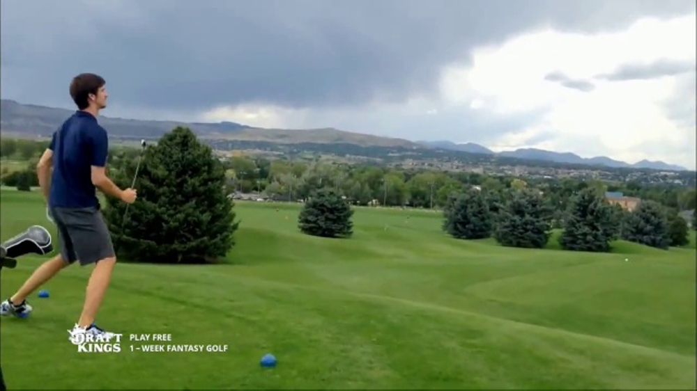DraftKings 1-Week Fantasy Golf TV Commercial, 'Fails'