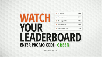 DraftKings 1-Week Fantasy Golf TV Spot, 'Fails' - Thumbnail 8