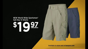 Bass Pro Shops TV Spot, 'Bait, Shorts and Teva' - Thumbnail 7