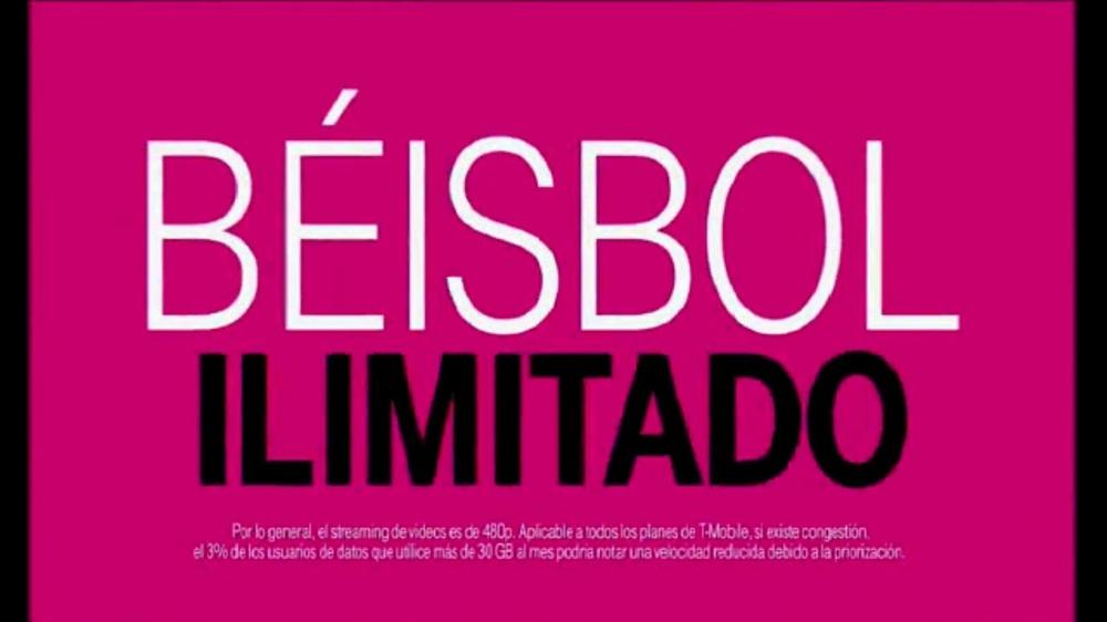 T-Mobile Tuesdays TV Commercial, 'Béisbol ilimitado' [Spanish] - Video