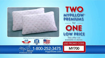 My Pillow Premium TV Spot, 'Better Night's Sleep: Two for One' - Thumbnail 5