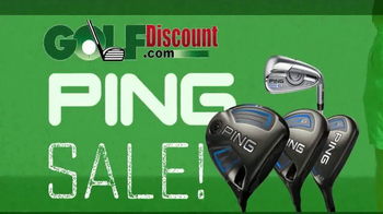 GolfDiscount.com Ping Sale TV Spot, 'Driver, Hybrids and Irons' - Thumbnail 2
