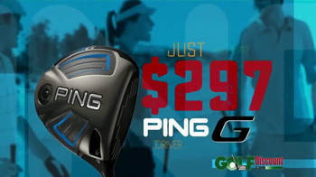 GolfDiscount.com Ping Sale TV Spot, 'Driver, Hybrids and Irons' - Thumbnail 5