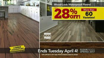 Lumber Liquidators Spring Floor Trends TV Spot, 'Spring Flooring Season' - Thumbnail 7