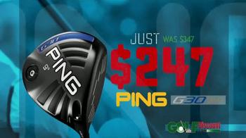 GolfDiscount.com Ping Sale TV Spot, 'Ping G30 Clubs' - Thumbnail 5