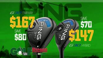 GolfDiscount.com Ping Sale TV Spot, 'Ping G30 Clubs' - Thumbnail 7