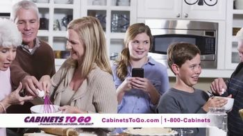 Cabinets To Go Buy More, Save More Sale TV Spot, 'Holiday: Kitchen' - Thumbnail 1