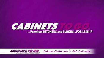 Cabinets To Go Buy More, Save More Sale TV Spot, 'Holiday: Kitchen'
