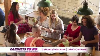 Cabinets To Go Buy More, Save More Sale TV Spot, 'Holiday: Kitchen' - Thumbnail 4