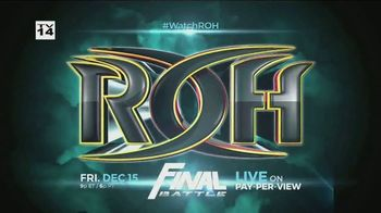 ROH Wrestling Final Battle TV Spot, '2017 Live on Pay-Per-View' - Thumbnail 4
