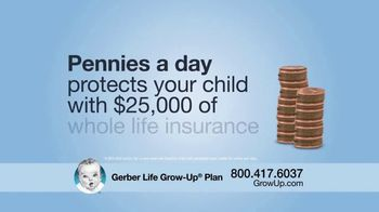 Gerber Life Insurance Grow-Up Plan TV Spot, 'Financial Head Start'
