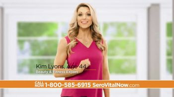 SeroVital TV Spot, 'Youth Hormone' Featuring Kim Lyons - 83 commercial airings