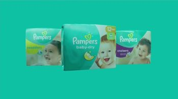 Pampers Baby-Dry TV Spot, 'Hasta tres veces más seco' [Spanish] - Thumbnail 8