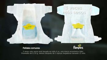 Pampers Baby-Dry TV Spot, 'Hasta tres veces más seco' [Spanish] - Thumbnail 6