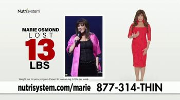 Nutrisystem Turbo 13 TV Spot, 'Rev Your Metabolism' Featuring Marie Osmond - 918 commercial airings