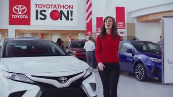 Toyota Toyotathon TV Spot, 'Year-End Savings: Safety Sense' [T1]