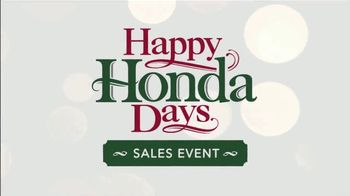 Happy Honda Days Sales Event TV Spot, 'Ion Television: Road Trip' [T1] - Thumbnail 7