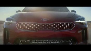 2018 Kia Stinger TV Spot, 'Change Happens and It Happens Fast' - Thumbnail 1