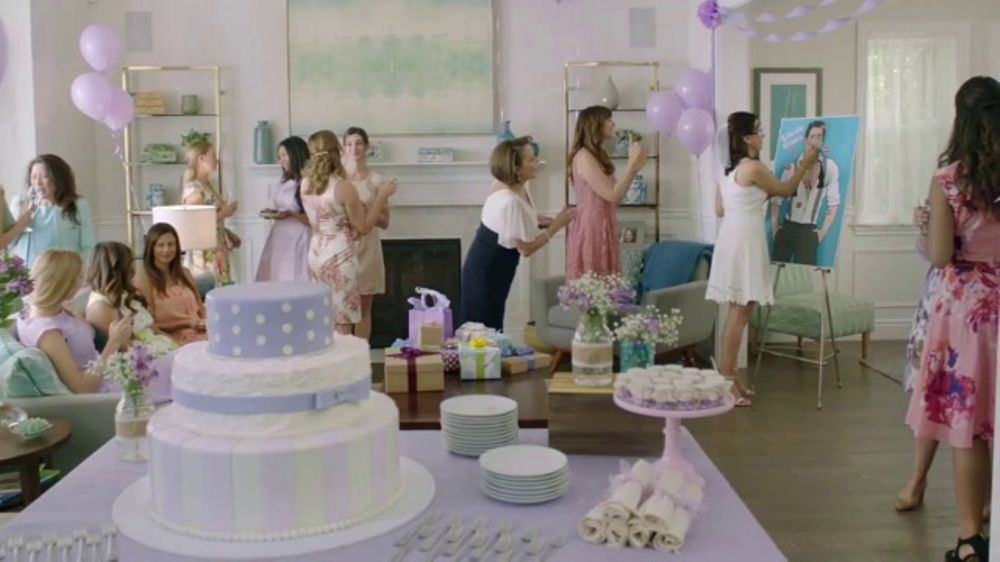 diet dr pepper tv commercial bridal shower featuring justin guarini ispottv