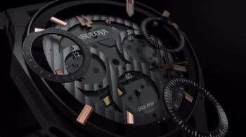 Bulova CURV TV Spot, 'The World's First Curved Chronograph Movement' - Thumbnail 2