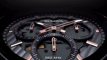Bulova CURV TV Spot, 'The World's First Curved Chronograph Movement'