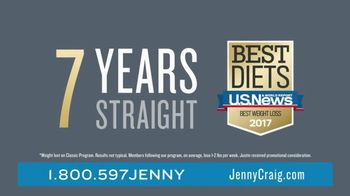 Jenny Craig Rapid Results TV Spot, 'Justin Lost 25 Lbs' - Thumbnail 2