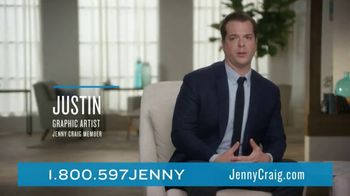 Jenny Craig Rapid Results TV Spot, 'Justin Lost 25 Lbs' - Thumbnail 6