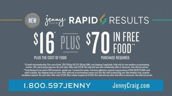 Jenny Craig Rapid Results TV Spot, 'Justin Lost 25 Lbs' - Thumbnail 9