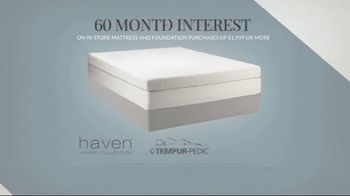 Havertys Year End Mattress Event TV Spot, 'The Right Mattress: Box Spring' - Thumbnail 3