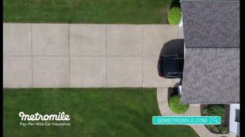 Metromile Pay-Per-Mile Car Insurance TV Spot, 'Pay-Per-Mile' - Thumbnail 3