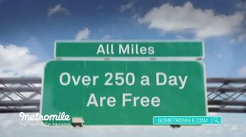 Metromile Pay-Per-Mile Car Insurance TV Spot, 'Pay-Per-Mile' - Thumbnail 6