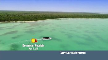 Apple Vacations End of Year Sale TV Spot, 'Time: Dominican Republic' - Thumbnail 3