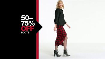 Macy's One Day Sale TV Spot, 'Boots, Jewelry and Coats' - Thumbnail 4