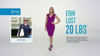 Jenny Craig Rapid Results TV Spot, 'Erin Lost 20 Pounds' - Thumbnail 1