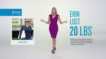 Jenny Craig Rapid Results TV Spot, 'Erin Lost 20 Pounds'