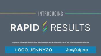 Jenny Craig Rapid Results TV Spot, 'Erin Lost 20 Pounds' - Thumbnail 3
