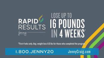 Jenny Craig Rapid Results TV Spot, 'Erin Lost 20 Pounds' - Thumbnail 4