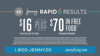 Jenny Craig Rapid Results TV Spot, 'Erin Lost 20 Pounds' - Thumbnail 7
