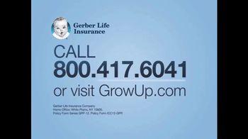 Gerber Life Insurance Grow-Up Plan TV Spot, 'Coverage for Grandchildren' - Thumbnail 6