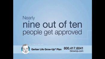 Gerber Life Insurance Grow-Up Plan TV Spot, 'Coverage for Grandchildren' - Thumbnail 3