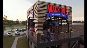 Walk-On's Bistreaux & Bar TV Spot, 'Part of a Team' Featuring Drew Brees - Thumbnail 1