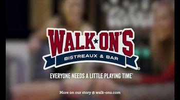 Walk-On's Bistreaux & Bar TV Spot, 'Part of a Team' Featuring Drew Brees - Thumbnail 10