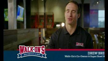 Walk-On's Bistreaux & Bar TV Spot, 'Part of a Team' Featuring Drew Brees - Thumbnail 2