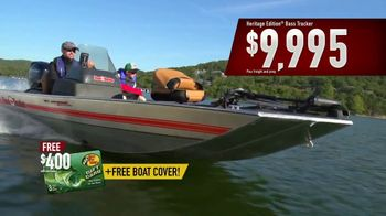 Bass Pro Shops After Christmas Clearance Sale TV Spot, 'Tracker Fishing' - 240 commercial airings