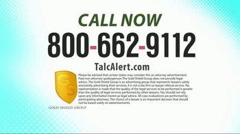 Gold Shield Group TV Spot, 'Talcum Powder Lawsuit' - Thumbnail 4