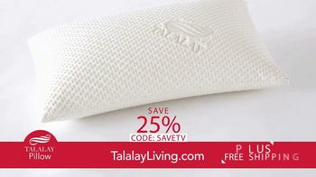 Talalay Pillow TV Spot, 'New Kind of Pillow' - Thumbnail 8