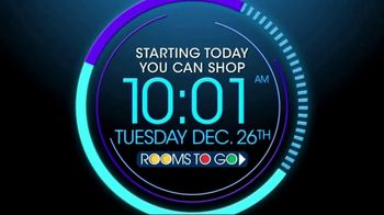Rooms to Go TV Spot, 'Now Is the Time'