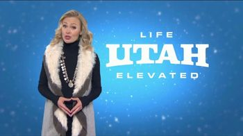 Visit Utah TV Spot, 'Winter Getaway' Featuring Erica Olsen
