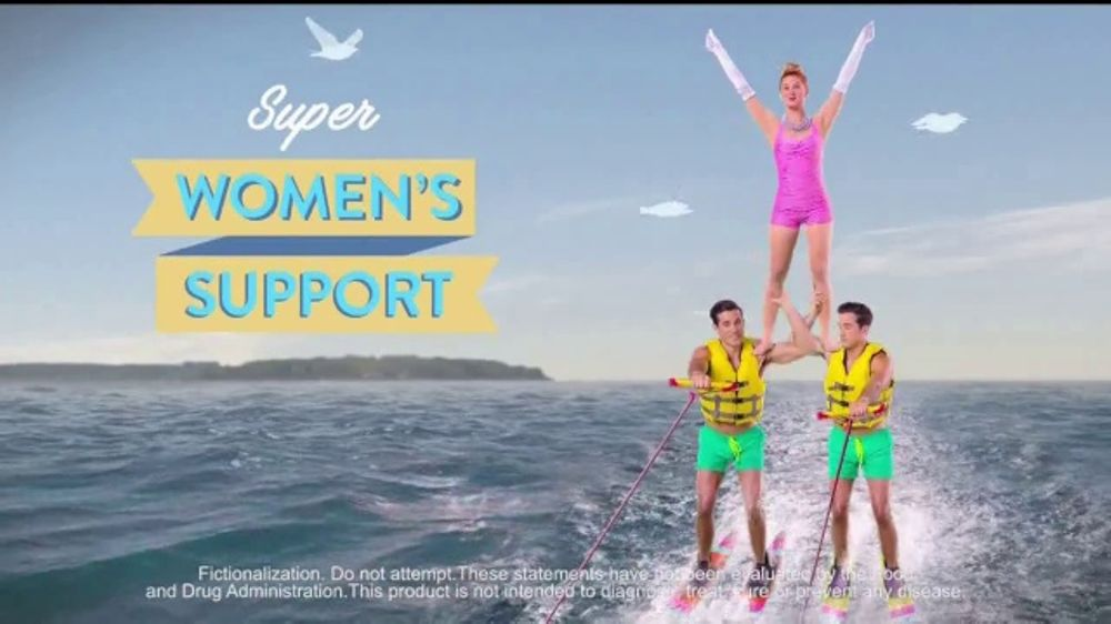 VitaFusion Women's TV Commercial, 'Super Women's Support'