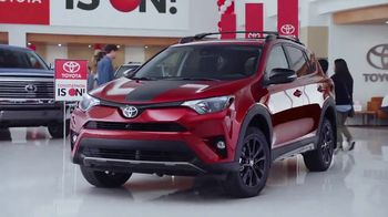 Toyota Toyotathon TV Spot, 'Hourglass: RAV4, Corolla and 2018 Camry' [T1] - 196 commercial airings